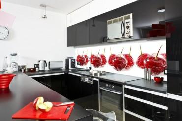 Фартук для кухни – решение заменяющее плитку