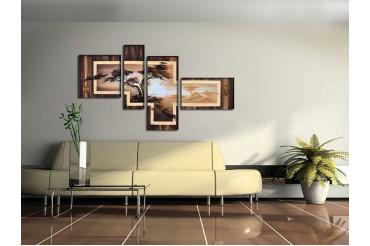 Модульные картины на стену на заказ